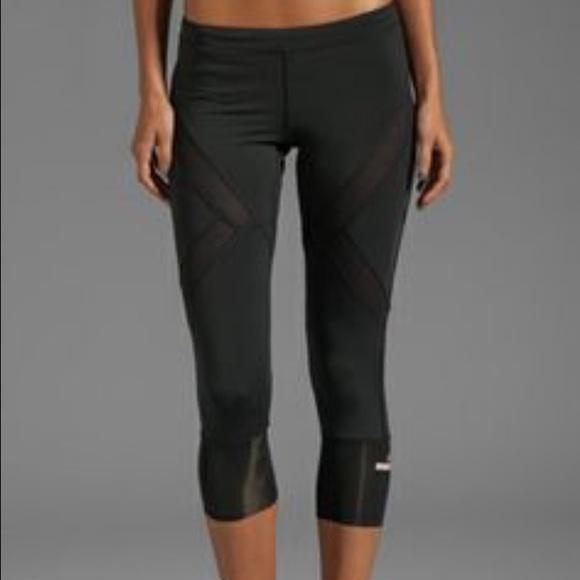 17c540dbb28d3 Adidas by Stella McCartney Pants - Adidas by Stella McCartney Capri with  mesh size M