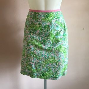 Lilly Pulitzer Gator Pencil Skirt