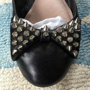 Vince Camuto Shoes - Vince Camuto Spiked Bow Flats