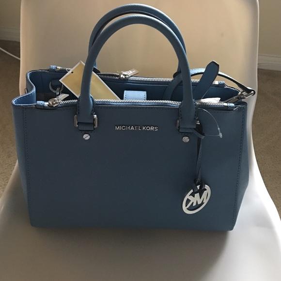 63a60dcce9e4 Michael Kors Bags | Mk Sutton Medium Satchel | Poshmark