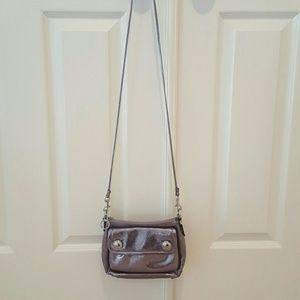 Coach Poppy Leather Crossbody Bag