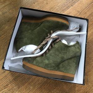 Boutique 9 Shoes - Boutique 9 Lace Up Wedges
