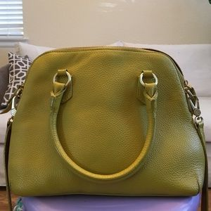 46 off boden handbags leather boden bag from janell 39 s for Boden yellow bag