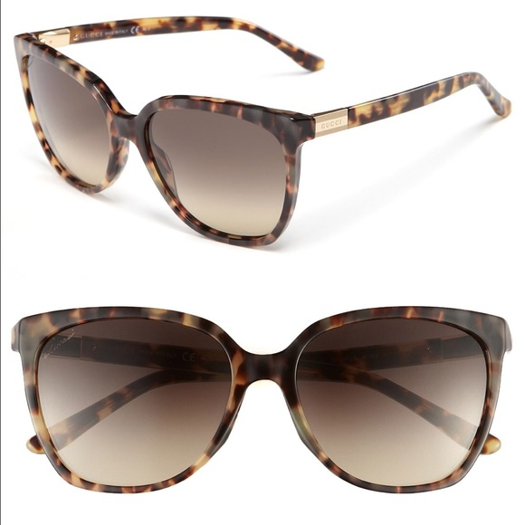 0092c2ad38863 Gucci Accessories - Gucci GG 3502 S Women s Sunglasses  Havana Frames