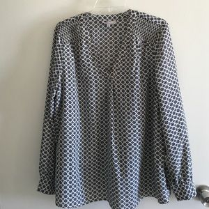 Nexx Tops - Nexx patterned blouse
