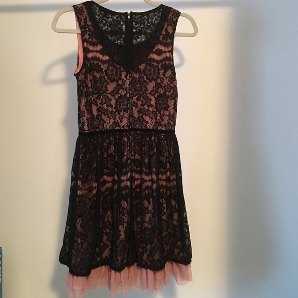 BeBop - Macy\'s black and pink dress size medium from Dre\'s closet ...