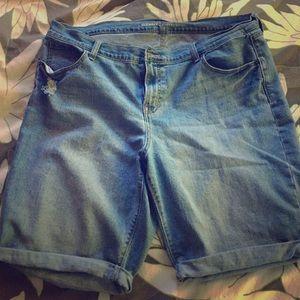 LIKE NEW Denim Bermuda shorts
