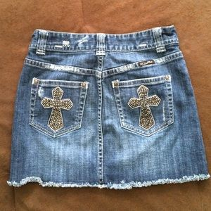 Rock & Roll Cowgirl Dresses & Skirts - ❗️Final Price❗️Denim mini skirt