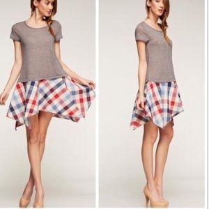 •checkered dress•