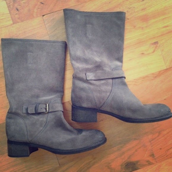 J. Crew Schuhes   J  Crew Ryder Suede Buckle Boot   J Poshmark 9f4a53