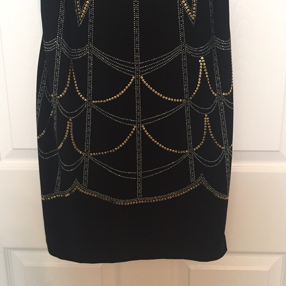 Bisou Bisou Dresses - Bisou Bisou Black Sequin Party Dress Sz 4