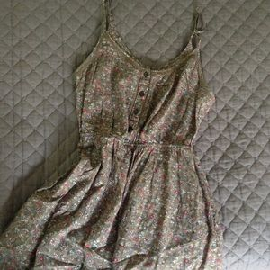 aerie Dresses & Skirts - Floral print open back Aerie dress