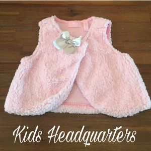 Kids Headquarters Other - Adorable pink Vest size 18 months