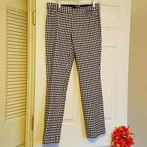 Express columnist houndstooth pants 8R
