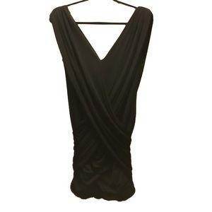 BCBG Black Wrap Dress