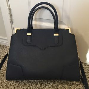 "Rebecca Minkoff Amorous Satchel in ""Ink"""