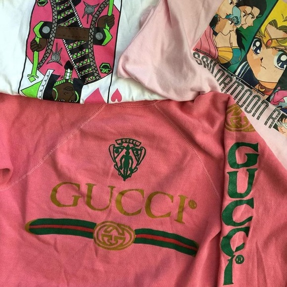 258c902eb479 Gucci Tops - Vintage Gucci sweater one of a kind 80 s