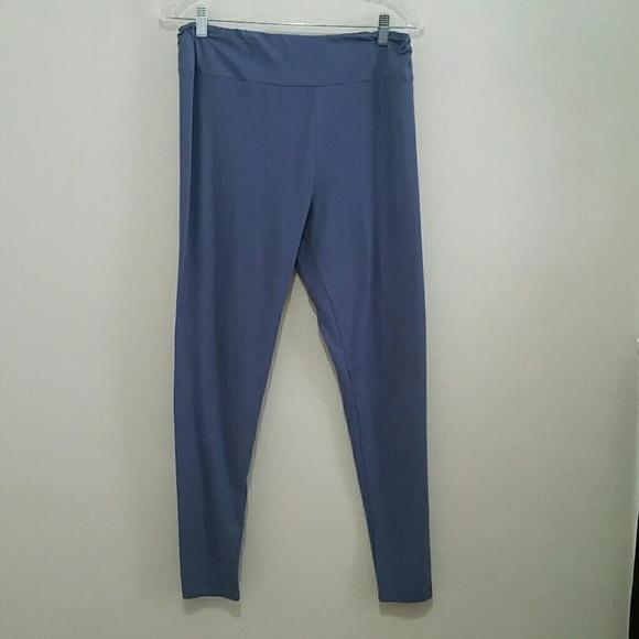 30ca802ff8c9c LuLaRoe Pants | Steel Blue Grey Leggings Tc | Poshmark
