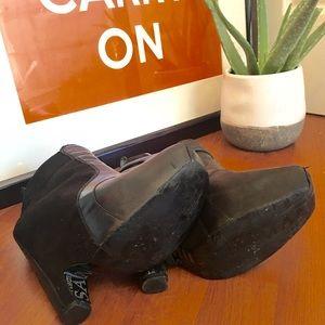 2cb979b887d3a9 Sam Edelman Shoes - Sam Edelman Zoe Balenciaga harness boot knock-off