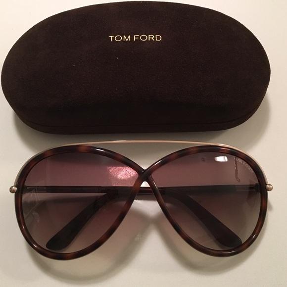 58514721150c Brand New Tom Ford Tamara Sunglasses in Dk Havana