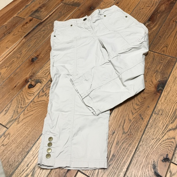 Style & Co Pants - Khaki Capri Pants