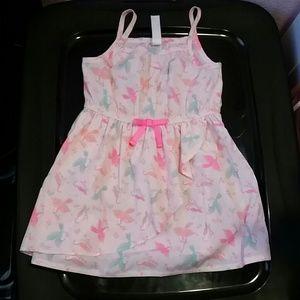 Gorgeous Neon Sparrow Print dress