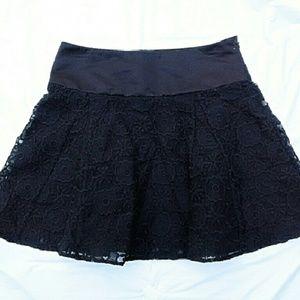 Jack Wills Dresses & Skirts - Jack Wills of London Black Lace Skirt