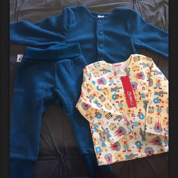 6043d95ca Zutano Matching Sets | 18 Month Circus Print Fleece Outfit | Poshmark
