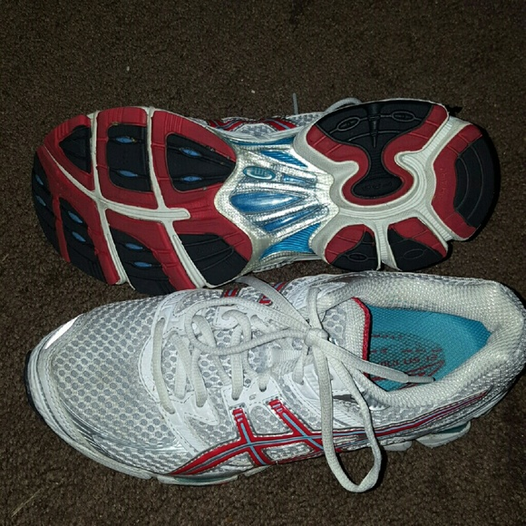 Women's Asics Gel Cumulus 13 Running Shoes Wore 1x