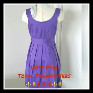 Spense Dresses & Skirts - ⚜⚜HP⚜⚜Purple Sleeveless Spense Dress💓💓