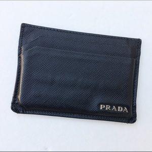 Prada Other - Prada leather card holder