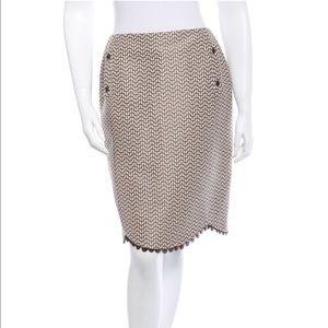 Lela Rose Dresses & Skirts - Lela Rose Jacquard Scallop Skirt