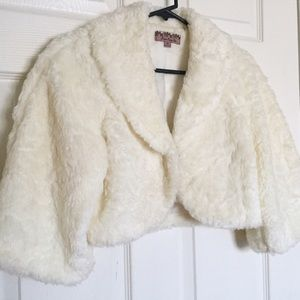 Faux Fur Forever 21 Cropped Coat