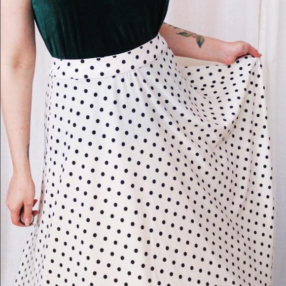 Nordstrom Skirts - Polka Dot Circle Skirt