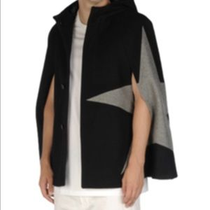 MSGM Other - MSGM black star hooded cape
