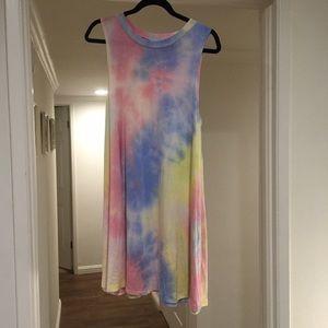 Dresses & Skirts - Tye dye tank dress ✌🏼️☮
