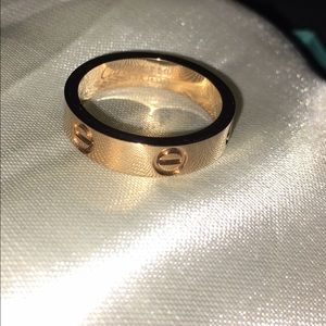Cartier Love Pink Gold Ring