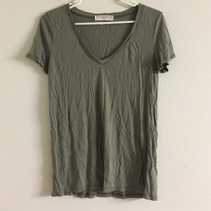 Urban outfitters project social t green tee