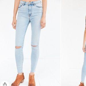 BDG Twig Crop High-Rise Skinny Jean