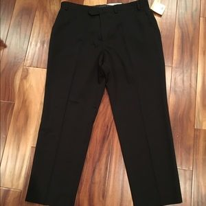 Men's Michael Kors black dress pants