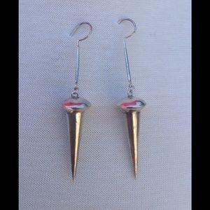 Jewelry - Sexy silver earrings.