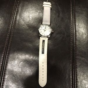 Tag Heuer Accessories - TAG Heuer White Leather Watch