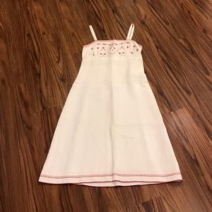 Dresses & Skirts - Size 6 dress with red stitching.$18 only today