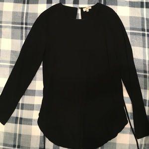 Wilfred black blouse Aritzia