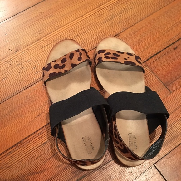 Target Mossimo Leopard Sandals | Poshmark