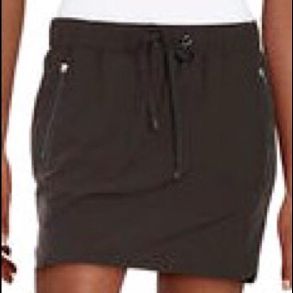 Pants - Nylon Drawstring Skort