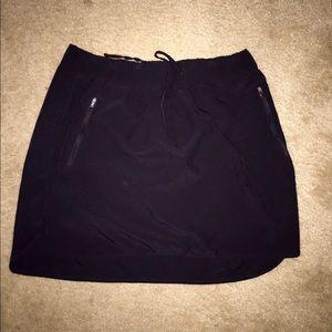 Shorts - Nylon Drawstring Skort