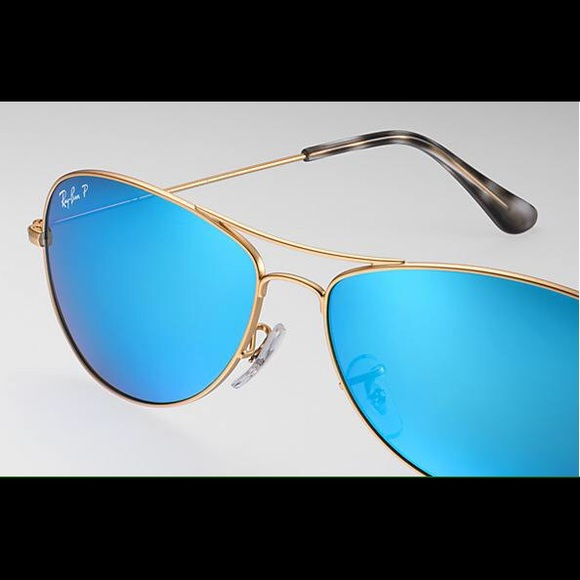 99b1c1ed149 RB3562 CHROMANCE COCKPIT AVIATOR. M 57d68e82a88e7d6f32020056. Other  Accessories you may like. Authentic Black Ray-Ban Aviator Sunglasses
