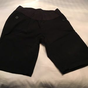 Maternity dress shorts