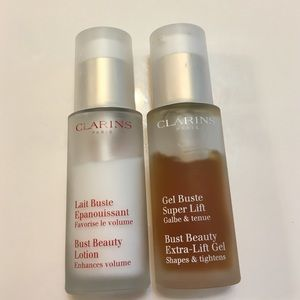 Clarins beauty bust set